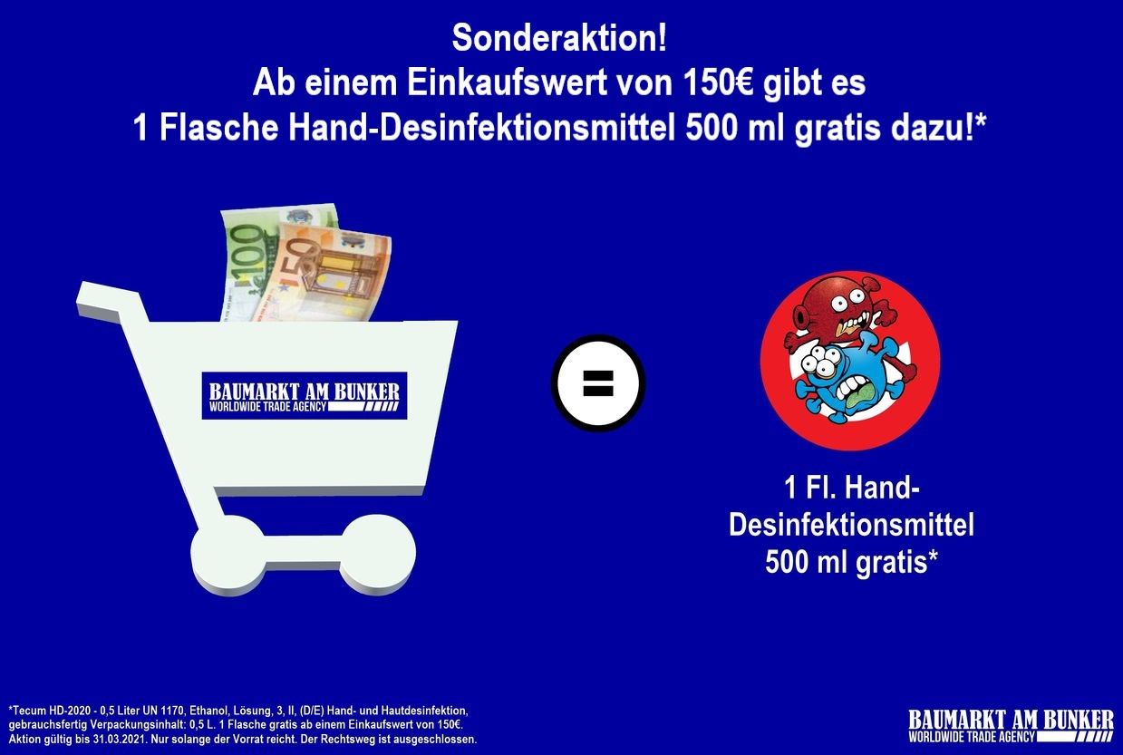 Sonderaktion 150€ HD Start