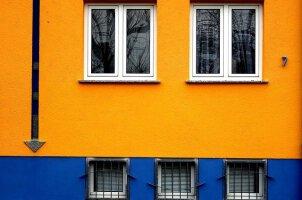 Außen- und Fassadenfarbe