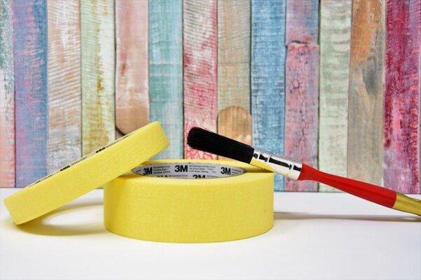 Malerbänder, Klebebänder