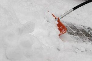 Schneeschieber & Streugut