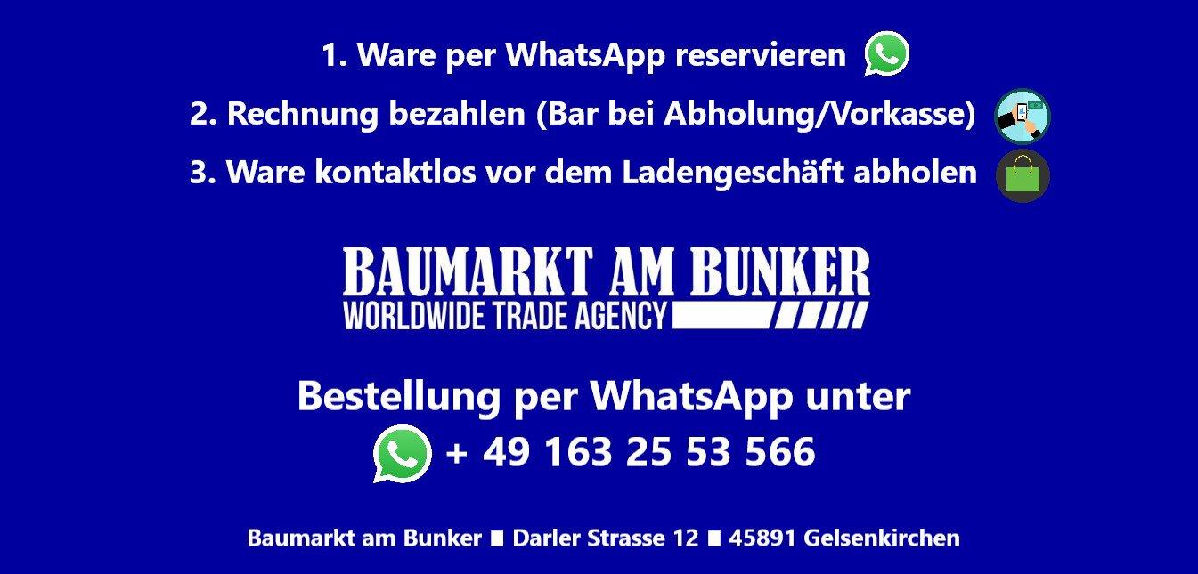 Bestellung per WhatsApp